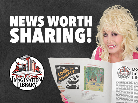 Dolly Parton's Imagination Library Breaking New Enrollment Records